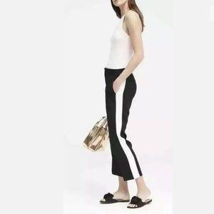 Banana Republic Pants Tuxedo Stripe Black Avery 12